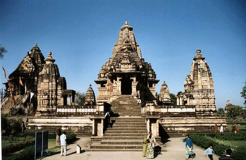 Khajuraho tempel for Architecture inde
