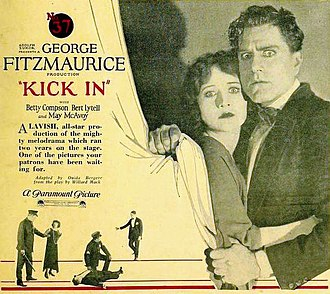 Kick In (1922 film) - Poster for the film