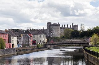 Kilkenny City in Leinster, Ireland