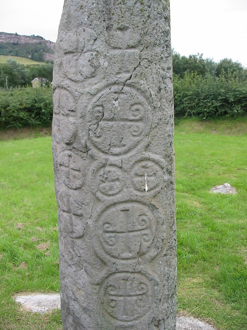 Kilnasaggart inscribed stone County Armagh 1