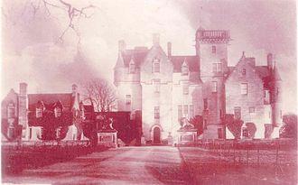 Kimmerghame House - Image: Kimmerghamefire