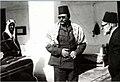 King Farouk & Prince Faisal at Egyptian Tekkiyah at Madina 1945.jpg