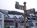 Kings House Hotel and Signpost - geograph.org.uk - 677793.jpg