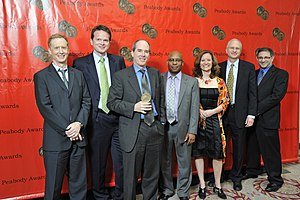 NPR - Kinsey Wilson and the npr.org crew at the 69th Annual Peabody Awards