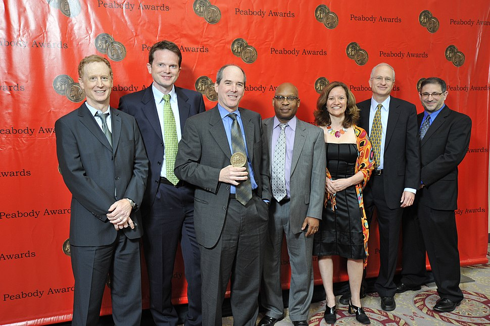 Kinsey Wilson and the npr.org crew at the 69th Annual Peabody Awards