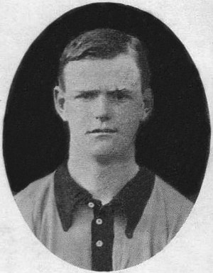 William Kirby (footballer, born 1883) - Kirby while with Portsmouth in 1907.