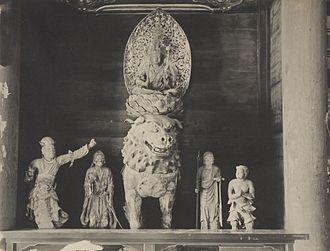Manjushri - Saidai-ji