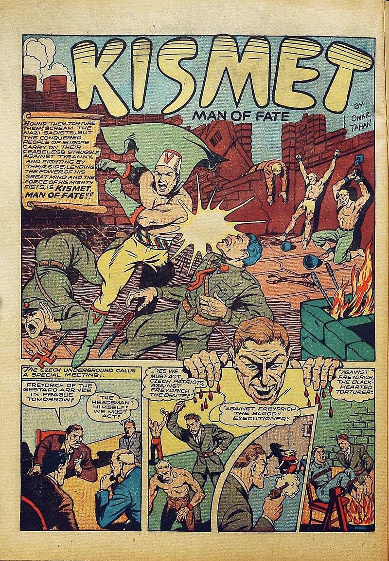 Kismet in Bomber Comics 1.jpg