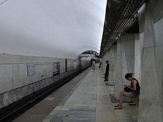 Kitay-gorod (Moscow Metro) - Station platform