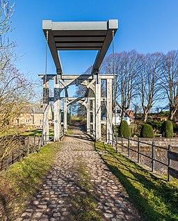 Holländerklappbrücke am Eiderkanal bei Klein-Königsförde