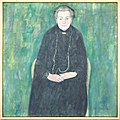 Klimt - Portrait of Barbara Floge. Mother of Emilie Floge 1915.jpg