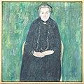 Klimt - Portrait of Barbara Floge. Mother of Emilie Floge 1915.jpg