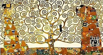 English: Gustav Klimt: The Tree of Life