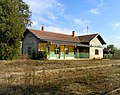 Klobouky u Brna, old railway station.jpg