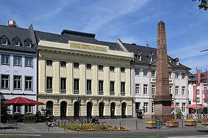 Peter Joseph Krahe - Theater Koblenz, Krahe's first project