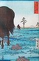 Koganehara d'Utagawa Hiroshige (Collection Monet, Giverny) (48763807186).jpg