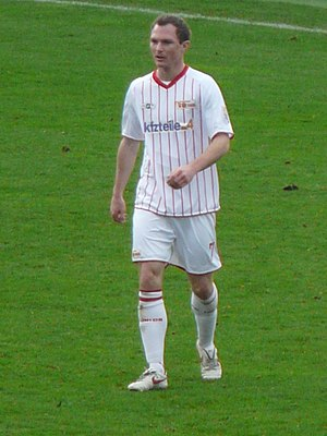 Patrick Kohlmann - Kohlmann playing for Union Berlin in 2009.