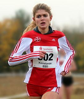 Konstanze Klosterhalfen German middle- and long-distance runner