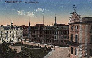 Kopernikusplatz(plac Bema) - 16.04.1917