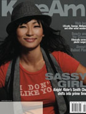 Smith Cho - Smith Cho on the cover of KoreAm magazine, November 2008
