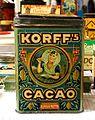 Korff's Cacao tin, 2,5Kilo Netto, pic2.JPG