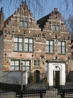 Kortrijk Begijnhof Grootjuffrow