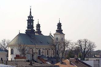 Brzozów - Image: Kosciol Przemienienia Panskiego Brzozow 2
