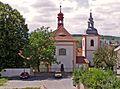 Kostel sv. Vojtěcha se zvonicí v Litoměřicích.jpg