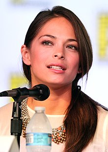 Kristin Kreuk - the beautiful, nice, intelligent,  actress  with Scottish, Chinese, Dutch,  roots in 2019