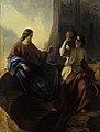 Kristus ja Samaaria naine kaev, Carl Timoleon von Neff, EKM j 275-63 M 1210.jpg