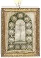 Kristus på korset med de tolv apostlarna - Skoklosters slott - 99066.tif