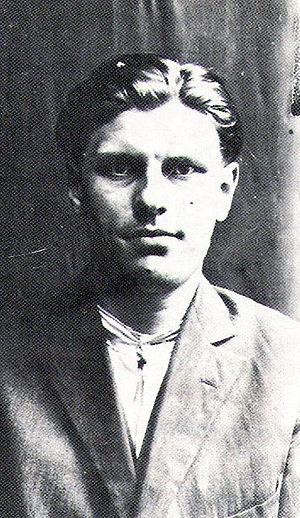 Paweł Kubisz - Paweł Kubisz in 1928