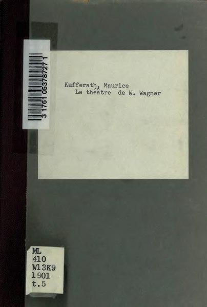File:Kufferath - Siegfried, 1894.djvu