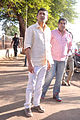 Kunal Kohli boards train from Marine Lines station.jpg