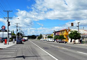 New Zealand State Highway 83 - Image: Kurow Bledisloe Street 002