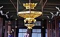 Kyoto Nishi Hongan-ji Korridor zwischen den Hallen Lampe 2.jpg