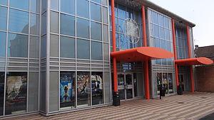 L'Idéal Cinéma Jacques Tati - L'Idéal Cinéma Jacques Tati: facade in 2012