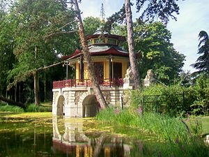 L'Isle-Adam, Val-d'Oise - The Cassan Chinese Pavilion, in L'Isle-Adam