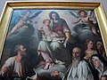L'empoli, apparizione dlela vergine ai santi luca e ivo, 1579, 02.JPG