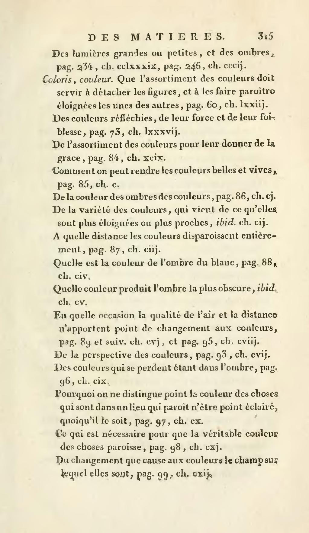 Couleur Qui Sont Des Choses page:léonard de vinci - traité élémentaire de la peinture, 1803.djvu