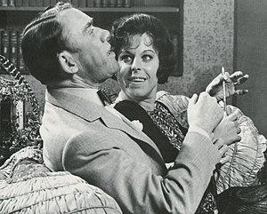 Margaretha Krook - Margaretha Krook and Holger Löwenadler in 1963.