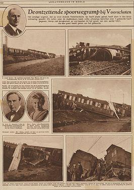 Krantenknipsel treinramp