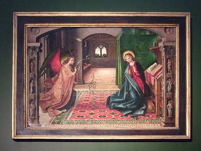 Archivo:La Anunciación (Pedro Berruguete).jpg