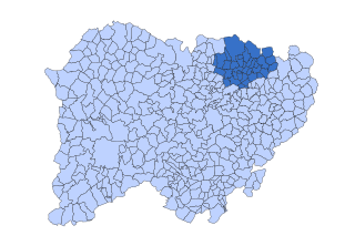 La Armuña Comarca in Castile and León, Spain