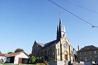 La Croix-aux-Bois - l' Église Sainte-Croix - Photo Francis Neuvens lesardennesvuesdusol.fotoloft.fr.JPG