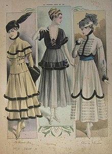 fa9b67ed5e3e La moda 1910 su La Femme chic
