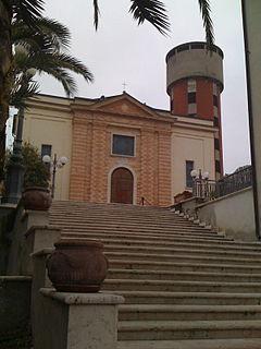 Controguerra Comune in Abruzzo, Italy