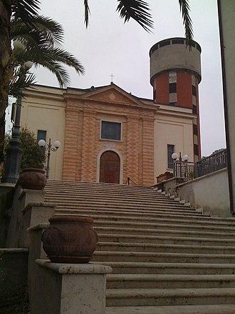 Controguerra - Church of Madonna delle Grazie.