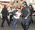 La police disperse des manifestations à Casablanca et Tanger (5786196731).jpg