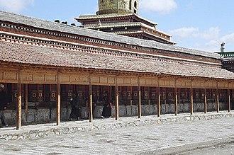 Gannan Tibetan Autonomous Prefecture - Labrang Monastery, Xiahe County, Gannan Tibetan Autonomous Prefecture